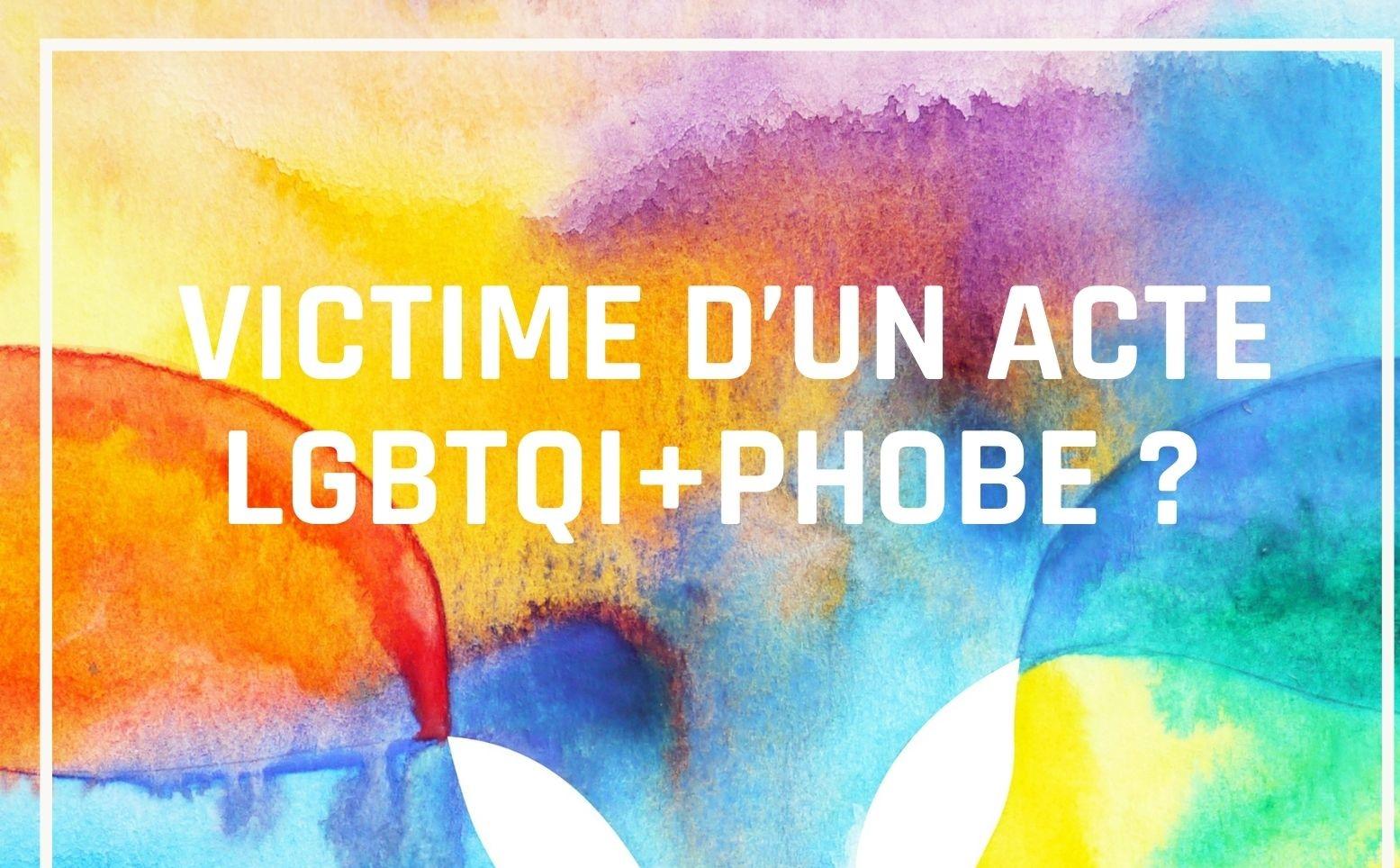 Collecte de données sur les violences LGBTQI+phobes